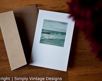 4x6 Blank Card - Summer Waves