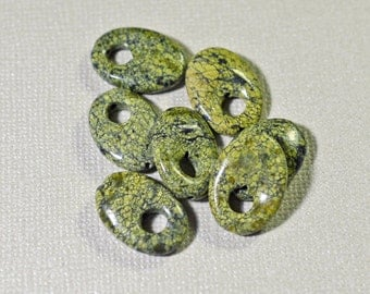Russian serpentine ovals - #1267