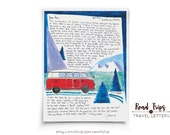 Road Trips: Travel Letters, A letter about what happens inside the cabin can be as interesting as what happens on the outside