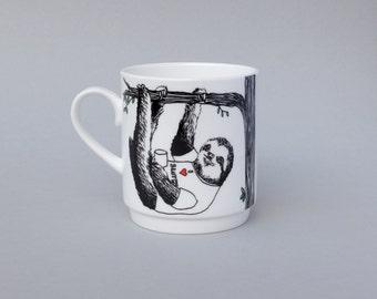 Sloth Stackable Tea Mug