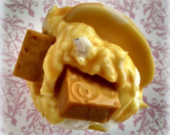 Apple Butterscotch Cake Cupcake Candle
