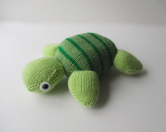 Tortoise Clothes Knitting Pattern : Topsy turvy turtle toy knitting pattern