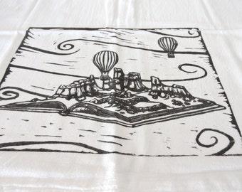 Kitchen Tea Towel - Block Print