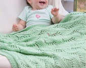 Knitting Pattern Baby Blanket Instant Download Knitting Pattern  Knitted Baby Blanket PDF Pattern