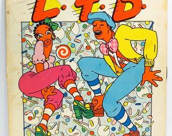 LTD Gittin Down Album Cover Purse Custom Made Vintage LP Record Album Handbag Tote