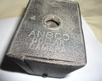 Vintage Ansco Dollar Box Camera, collectable