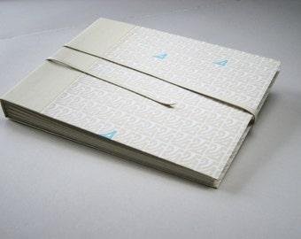 White Leather Photo Album
