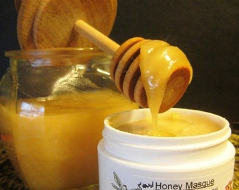 Christmas In July Sale Blemish Care, Organic Raw Honey Facial Mask, Face Masque, Wound care, Troubled skin, Blackheads