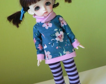 bjd Lati Yellow SP outfit flowers