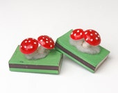Vintage Christmas Match Boxes