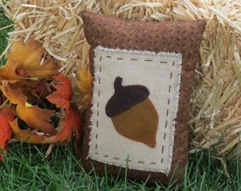 Harvest Acorn Pillow