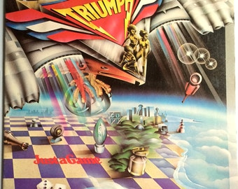 TRIUMPH Just A Game Lp 1979 Original Vinyl Record Album