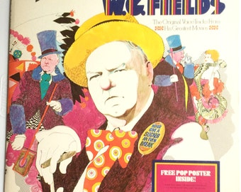 W.C. FIELDS Original Voice Tracks From His Greatest Movies Lp Original Vinyl Record Album