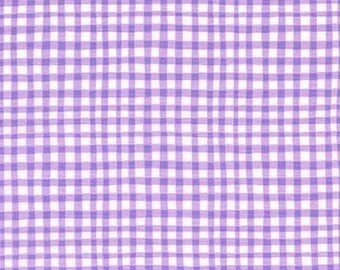 NEW Gingham Play CX7161 Lilac - Michael Miller Fabrics