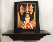 Minoan Snake Goddess Barbie Art Photo Print