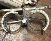 Antique Children's Optometrist Measuring Glasses/Tool
