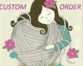 Custom order for DAN-Crochet Aviator Hat
