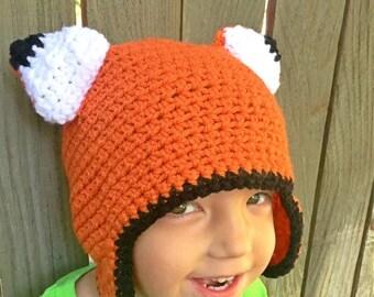 Back to School SALE Little Prince Fox--Fox Ears--Fantastic Mr Fox--Fox Mask--Fox Hat--Fox Beanie