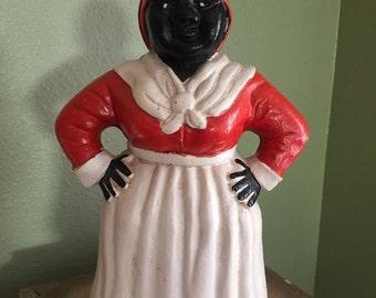 Aunt Jemima cast iron bank