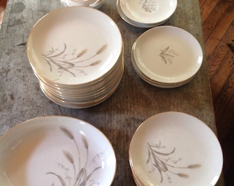 Vintage Sone China Wheat Dishes