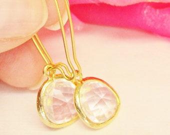 Crystal Earrings, Bridal Earrings, Bridesmaid Earrings, Dangle Earrings, Teardrop Earrings