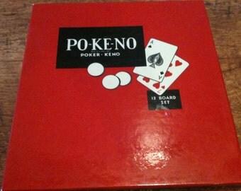 Vintage Poke-Eno Game