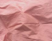 Silk Fabric - Dusty Pink - 100% Pure Silk - Fat Quarter - Sld180