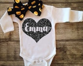 Custom Baby Bodysuit Baby Newborn Shirt New Baby Shirt Birth Announcement Bodysuit New Baby Gift Coming Home Outfit Baby Shower Gift Name