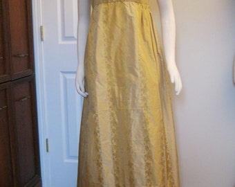 Regency Silk  Gown sz 12