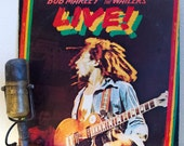 """Bob Marley Vinyl Record LP 1970s Reggae Album 'Bob Marley and the Wailers' - """"Live: The London Lyceum""""(1975 Island w/""""Get Up, Stand UP"""")"""