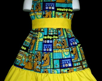 Sleeveless Summer Dress Scooby Doo Boutique 12/18M 24M/2T 3T/4T 5/6 Pageant New