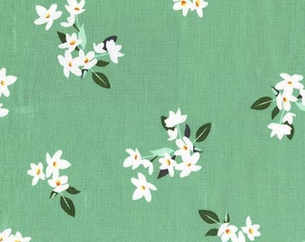 Michael Miller Bed of Roses Lily of The Valley Jade fabric - 1 yard