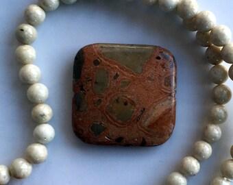Safari Jasper Pendant Goldstone Twist DIY Bead Kit Necklace Design Jewelry Design Beads a Plenty™