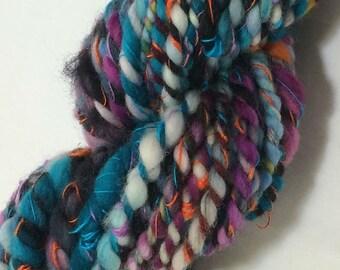 Silk & Merino Art Yarn - 42 yards - Super Bulky - art yarn