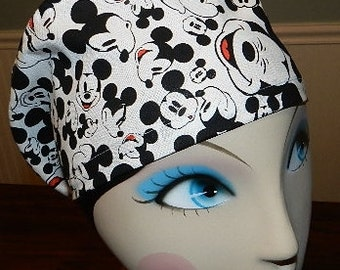Just Mickey  European Style  Surgical Scrub Cap with Toggle
