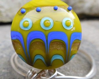 Key Largo SSL Lampwork Focal Bead