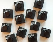Calligraphy Kit Customized Ink Well Add On / Comes with Name Personalization