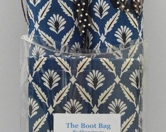 Fine Feathery Boot Trees & Boot Bag Set