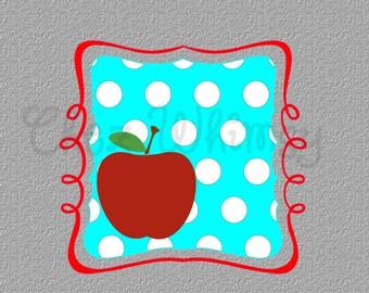 School SVG, Back to School Bundle, Apple SVG, Pencil Svg, Teacher Monogram Frames, Chevron Stripes, Quatrefoil Svg Designs, Polka Dot Frame