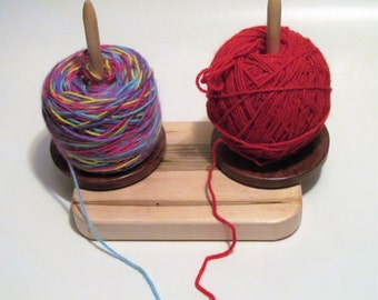 Double Yarn Buddy with Lazy Susan