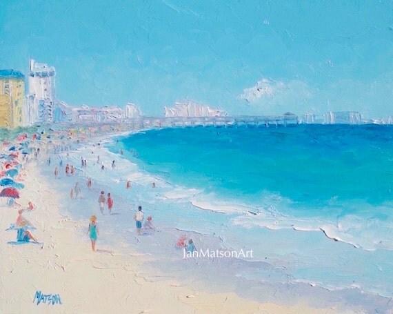 Myrtle Beach South Carolina Oil Painting Decor