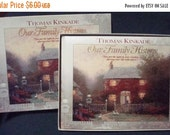 SALE Thomas Kinkade Our Family History Family Tree Book Genealogy Unused