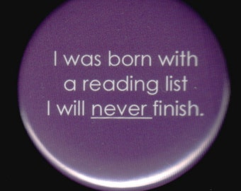 Unfinished Reading List Button