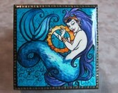 Steampunk Mermaid Jewelry Box