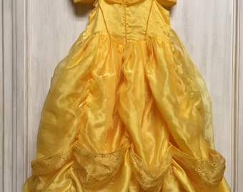 Belle Inspired Costume, child size 2-3