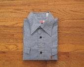 mens vintage Levis chambray shirt