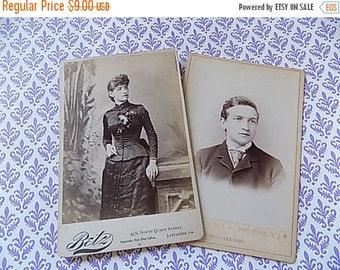 Antique Cabinet Cards - Photographs CDV - Instant Ancestors