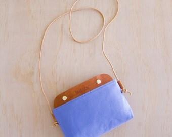Mallorca Crossbody Bag -  Cornflower Blue WR