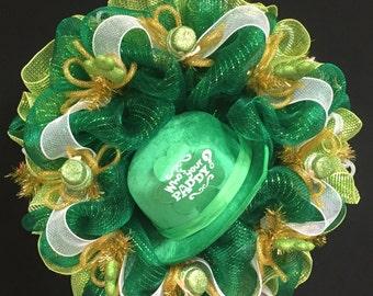 Who's Your Paddy Wreath, St Pat's Wreath, St Patricks Wreath, Irish Wreaths