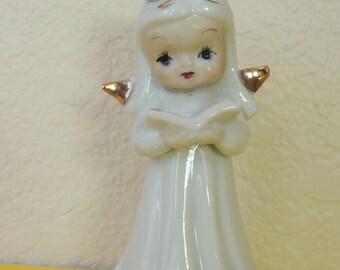 Japan Angel with Hymn Book Figurine